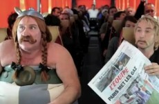 Video: Depardieu makes fun of Dublin flight urination incident