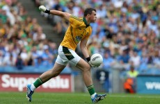 Paddy O'Rourke looked shocked to be starting for Meath today