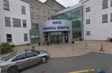 Fire inside Mayo General Hospital may have been caused by someone smoking