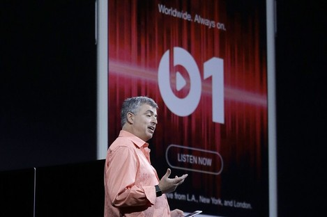 Eddy Cue, Apple's senior VP of internet software and services, talking about Beats 1 earlier this month.