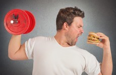 Can you eat whatever you like after a hard gym session?