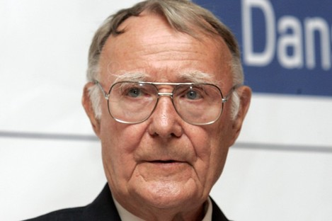 IKEA founder Ingvar Kamprad is an alleged Nazi sympathiser - and his company is now said to have used slave labour in its East German factories.