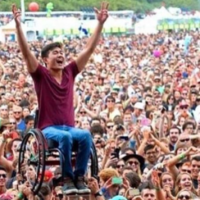 That 'best photo from Glastonbury' isn't from Glastonbury at all
