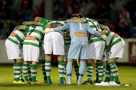 Shamrock Rovers begin their Europa League campaign this evening.