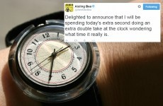 10 creative ways people will be spending their leap second tonight