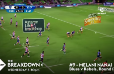 The top 10 tries of the Super Rugby season are very, very impressive