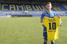 After signing a new contract yesterday, Ireland's Jack Byrne is on the move*