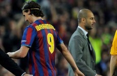 'Ibra will punch Pep Guardiola one of these days' -- recalls Barca president
