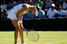Bra strap lands Eugenie Bouchard with dress code violation ... and she's then beaten at Wimbledon
