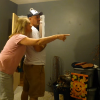 This couple found out they're going to be grandparents, and their reaction was adorable