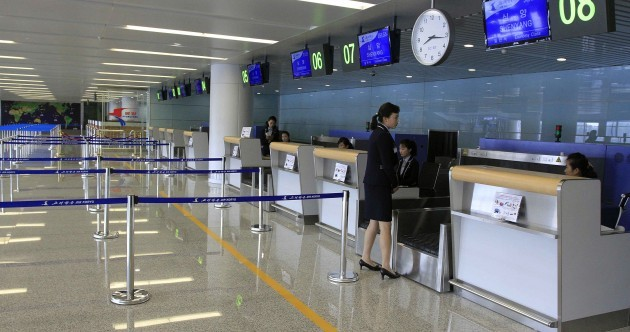 Take a look inside North Korea's shiny new (and empty) airport
