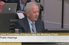 Banking inquiry suspended as Charlie McCreevy clashes with Pearse Doherty