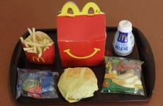 Should we ban giving away free toys with fast food?