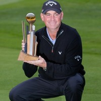 In the swing:  Thomas Bjorn continues to grow old gracefully