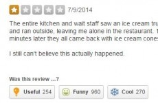 This is the most devastating Yelp review of all-time