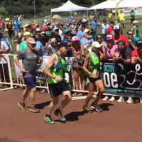 70-year-old woman finishes 100-mile race with just six seconds to spare