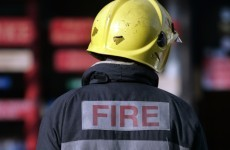 Firefighter rushed to hospital after breathing equipment failure