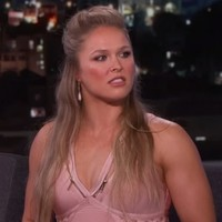 Ronda Rousey's comments on Jimmy Kimmel Live don't bode well for her next opponent