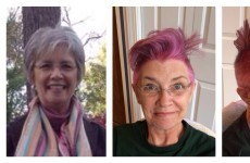 This Mam decided to get an amazing haircut before going through chemo