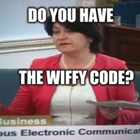 Fidelma Healy Eames pronounced WiFi as 'wiffy' and it was straight up mortifying