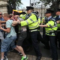 Garda Commissioner expresses concern for female garda knocked unconscious at Dáil protest