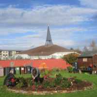 Local families locked out of community garden by parish