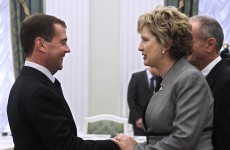 McAleese to send Medvedev DVDs of gaelic football and hurling