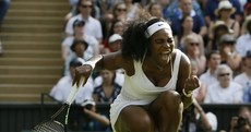 Serena Williams prevails after being given an almighty shock by Britain's Heather Watson