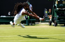 Wimbledon's great entertainer Dustin Brown pulls off outrageous drop shot