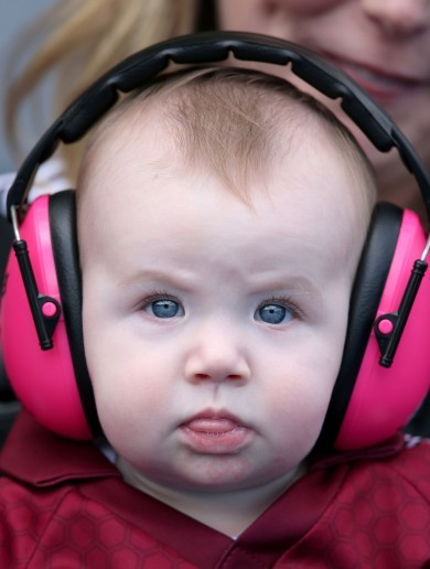 Rain, tears, silverware and babies with headphones - the GAA weekend in pictures