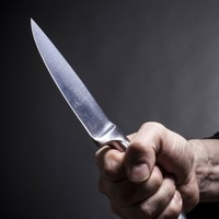 Shop workers threatened with knife in Saturday night robbery