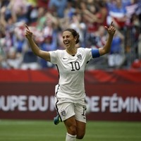 Four years after costing her team a World Cup, Carli Lloyd scored a hat-trick in the final