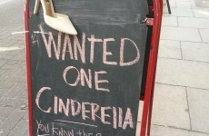 This Dublin café is trying to reunite a real-life Cinderella with her shoe