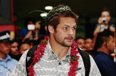 The All Blacks got a rousing welcome ahead of an historic game in Samoa