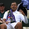Nick Kyrgios completely stopped trying during his Wimbledon meltdown today