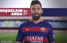 Barcelona shell out €34m for Arda Turan... but he won't be able to play until next year