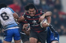'There will be consequences' - Toulouse unhappy at Johnston's Samoa call up