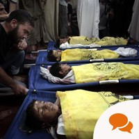 Our silence over Gaza is taken as complicity