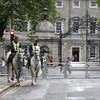 Lots of gardaí turned up for a protest that never happened outside Leinster House today