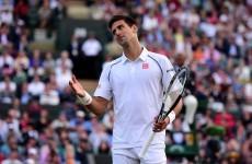 Novak Djokovic sorry for 'screaming' at ballgirl