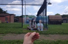 A teenager snuck onto the OITNB set to take photos, and got a brilliant response from the show
