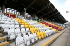 Why are some disabled parking bays closed at Tallaght Stadium on matchdays?