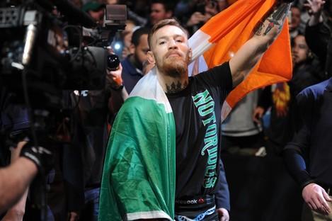 UFC interim featherweight title challenger Conor McGregor.