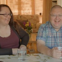 'It's like looking at myself in drag' - adopted brother and sister reunited after 40 years