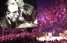 U2 invited their own tribute band to perform - and they had the time of their lives