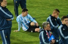 Messi was lazy in the Copa America, says grandfather