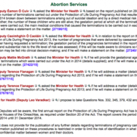 Pro-life TDs try to find out how many 'live birth' abortions were carried out in Ireland