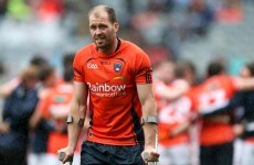Injury rules Armagh captain McKeever out of Sunday's All-Ireland qualifier against Galway