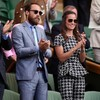 Kate Middleton's ridey brother is distracting people from the tennis at Wimbledon