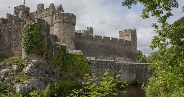 One of Ireland's best medieval castles was the scene of a bitter showdown between two brothers